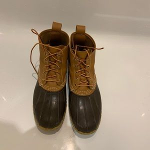 LL Bean Boots Duck Boots *WORN ONCE*